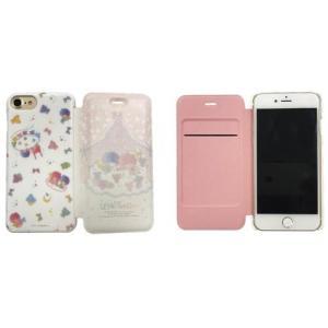 サンリオキャラクターズ iPhone8/7/6s/6対応 フリップカバー キキ&ララ|isfactory