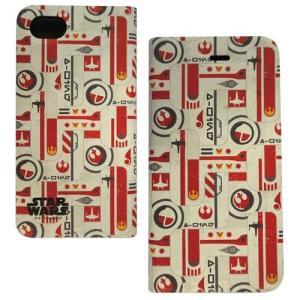 STAR WARS スターウォーズ iPhone8/7/6s/6対応フリップカバー パターン|isfactory