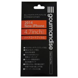 iPhone6対応 ハードコートフィルム IP6M-13|isfactory