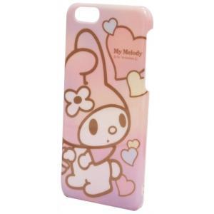 マイメロディ iPhone6対応シェルジャケット(アップ) SAN-364B|isfactory