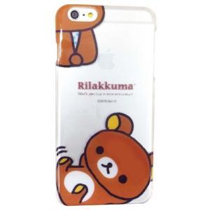 リラックマ iPhone6Plus対応シェルジャケット(ごろん)GRC-112A isfactory