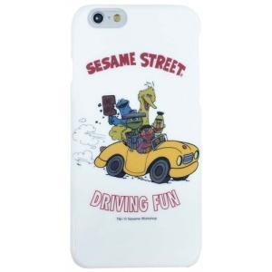 セサミストリート iPhone6対応 シェルジャケット(ドライビング)SSM-36A|isfactory