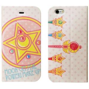 美少女戦士セーラームーン iPhone6対応フリップケース(マグネットタイプ)変身アイテム柄|isfactory