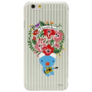 iPhone6対応 シェルジャケット スローライフペネロペ(ストライプ)|isfactory