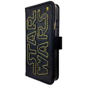 STAR WARS スターウォーズ iPhone6s/6対応 ステッチレザーフリップケース イエロー isfactory