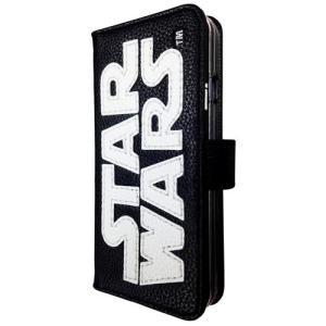 STAR WARS スターウォーズ iPhone6s/6対応 ステッチレザーフリップケース ホワイト|isfactory
