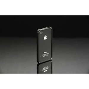 VORGUE iPhone4/4s Metal Bamper ブラック VGI0001BK|isfactory