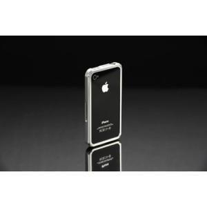 VORGUE iPhone4/4s Metal Bamper シルバー VGI0001SL|isfactory