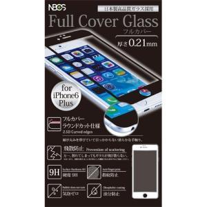 2.5Dラウンドカット フルカバーガラスフィルム iPhone6s/6 Plus対応 0.21mm ブラック|isfactory