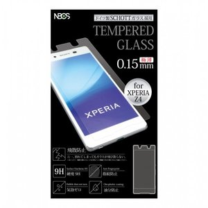 TEMPERED GLASS ガラスフィルム Xperia Z4用 0.15mm|isfactory