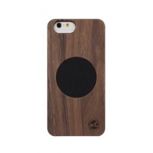 iPhone6/iPhone6s対応 木製ケース(クルミ色 WALNUT)|isfactory