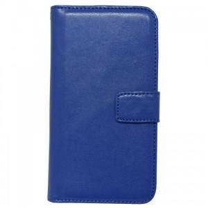 iPhone6/6s対応 ポケット付き手帳型レザーケース ブルー|isfactory