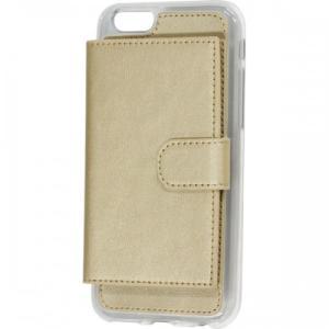 iPhone6/6s対応 背面収納型ケース ゴールド|isfactory