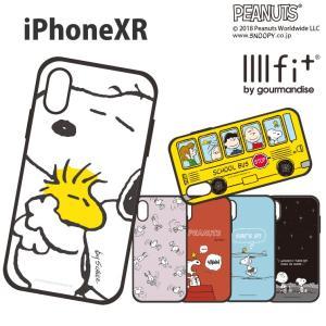 IIIIfit(イーフィット) ピーナッツ スヌーピー iPhoneXR対応ケース SNG-306|isfactory