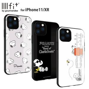 ピーナッツ スヌーピー IIIIfit iPhone11/XR 対応ケース New iPhone 6.1inch かわいい キャラクター|isfactory