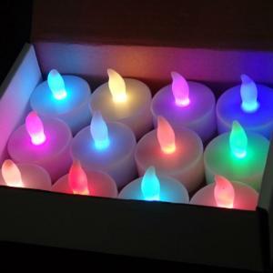 LEDキャンドル 七色 1個 LEDキャンドルライトの詳細画像1