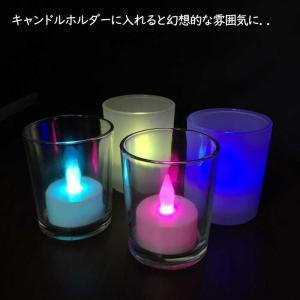 LEDキャンドル 七色 1個 LEDキャンドルライトの詳細画像2