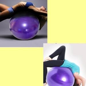 バランスボール 45cm 55cm フットポンプ付 ヨガボール ダイエット器具 |ishi0424|05