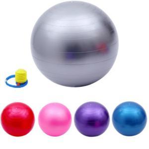 バランスボール 45cm 55cm 65cm 75cm 送料無料  フットポンプ付 ヨガボール ダイエット器具|ishi0424|04