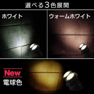 LEDソーラーライト スポットライト ガーデンライト 2灯 屋外 明るい 防滴  スポットライト 送料無料|ishi0424|05