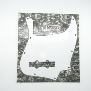 ALLPARTS / 8047 Jazz Bass Pickguard White 3Ply ジャズベース用ピックガード オールパーツ(御茶ノ水ROCKSIDE)|ishibashi-shops
