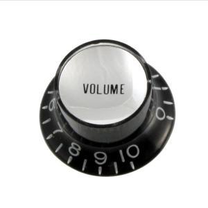 ALLPARTS / 5015 Black Volume Reflector Knobs リフレクターノブ VOLUME インチサイズ オールパーツ(御茶ノ水ROCKSIDE)|ishibashi-shops