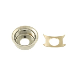ALLPARTS / 6537 Nickel Input Cup Jackplate for Telecaster オールパーツ(御茶ノ水ROCKSIDE)|ishibashi-shops