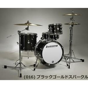 LUDWIG / BREAKBEATS OUTFIT LC179 X016 BLACK GOLD SPARKLE ドラムセット【御茶ノ水本店SOUTH】|ishibashi-shops