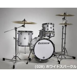 LUDWIG / BREAKBEATS OUTFIT LC179 X028 WHITE SPARKLE ドラムセット(御茶ノ水本店SOUTH)|ishibashi-shops