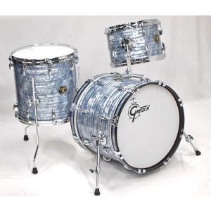 Gretsch / USA Custom 18-12-14 3点 Sky Blue Pearl Stop Sign Badge グレッチ USAカスタム ドラムセット【御茶ノ水本店SOUTH】《アウトレット特価》|ishibashi-shops