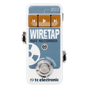 TC ELECTRONIC ティーシーエレクトロニック / WIRETAP RIFF RECORDER [ワイヤー・タップ・リフレコーダー](御茶ノ水本店)(SALE2019)の画像