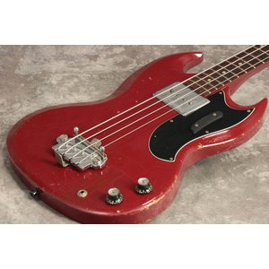 (中古)Gibson USA / 1965年製 Vintage EB-0 Fire Engine R...