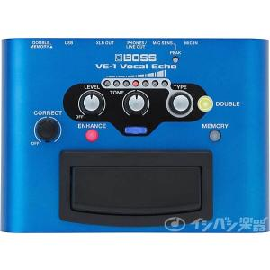 BOSS ボス / VE-1 VOCAL ECHO ボーカルエコー【御茶ノ水本店】