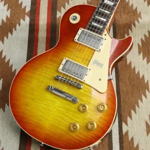 Gibson Custom Shop / 1958 Les Paul Standard Chambered VOS Washed Cherry Sunburst(S/N CR80008)(御茶ノ水FINEST_GUITARS)|ishibashi-shops