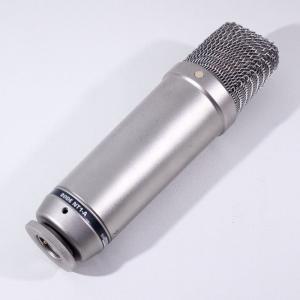RODEが誇る、高度な技術力を凝縮したコンデンサーマイク、NT1-A。 ローノイズ・トランスレス回路...