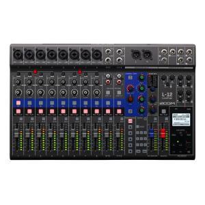 ZOOM / LiveTrak L-12 12-Track Live Mixer Recorder ズーム (予約注文:納期要確認)(渋谷店)|ishibashi-shops