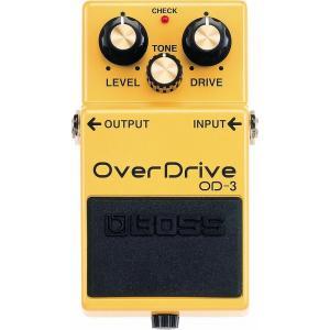これがオーバードライブの新たな定番、OD-3。  デュアル・ステージ・オーバードライブ回路を搭載。美...