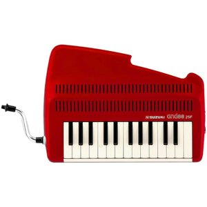 Suzuki / andes 25F Red 鍵盤吹奏笛 【名古屋栄店】|ishibashi-shops