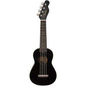 Fender / Venice Soprano Ukulele Black [California Coast Series] ウクレレ ソプラノ【梅田店】|ishibashi-shops