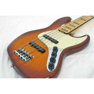 (中古)Fender USA フェンダーUSA / American Elite Jazz Bass V Ash Maple Tobacco Burst (福岡パルコ店)|ishibashi-shops