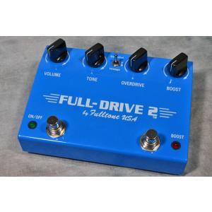 フルトーンのオーバードライブ「FULL DRIVE 2」が入荷しました!! こちらはオーバードライブ...