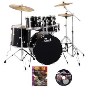 パール ドラムセット RS525SCW/C 31-ジェットブラック ご購入特典DVD2枚付き(WEBSHOP)|ishibashi-shops