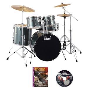 パール ドラムセット RS525SCW/C 706-チャコールメタリック ご購入特典DVD2枚付き(WEBSHOP)|ishibashi-shops
