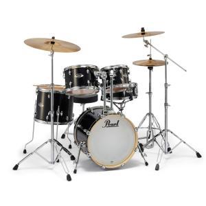 Pearl ドラムセット EXX785/C #31ジェットブラック EXPORT 18BD小口径 コンパクトサイズ(WEBSHOP)|ishibashi-shops