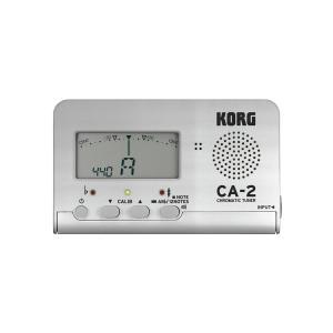 KORG / CA-2-SL Silver CHROMATIC TUNER クロマチックチューナー コルグ(お取り寄せ商品)(WEBSHOP)|ishibashi-shops