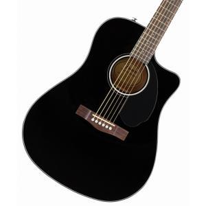 (タイムセール:29日12時まで)(在庫有り) FENDER Acoustic / CD-60SCE Dreadnought Walnut Fingerboard Black エレアコ アコギ CD60SCE(YRK)|ishibashi