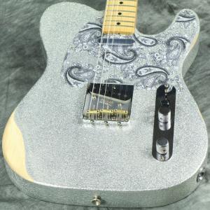 Fender / Brad Paisley Road Worn Telecaster Maple Fingerboard Silver Sparkle《ピックケースプレゼント! / +811177400》【S/N MX19006806】