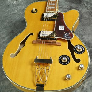 Epiphone / Joe Pass Emperor II PRO Vintage Natural (VN) エピフォン 【アウトレット特価】【S/N 18082303543】