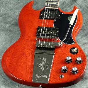 Gibson USA / SG Standard 61 Maestro Vibrola Vintage Cherry《特典つき!/80-set21419》《Gibson純正ギグバッグプレゼント! /+811171500》【S/N 126290339】