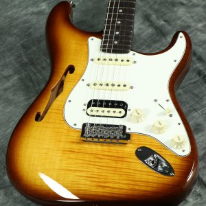 FENDER / Rarities Flame Maple Top Stratocaster HSS Thinline Violin Burst【S/N LE08090】【限定モデル】